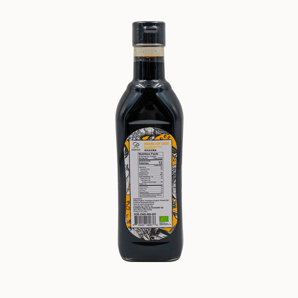 Organic Naturally Brewed Soy Sauce