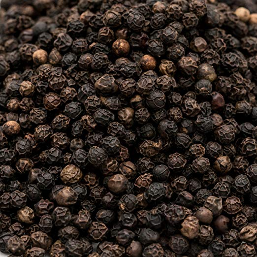 Soeos Whole Black Peppercorns, Grade AAA, Black Peppercorns for Grinder Refill, Whole black Peppercorns Bulk