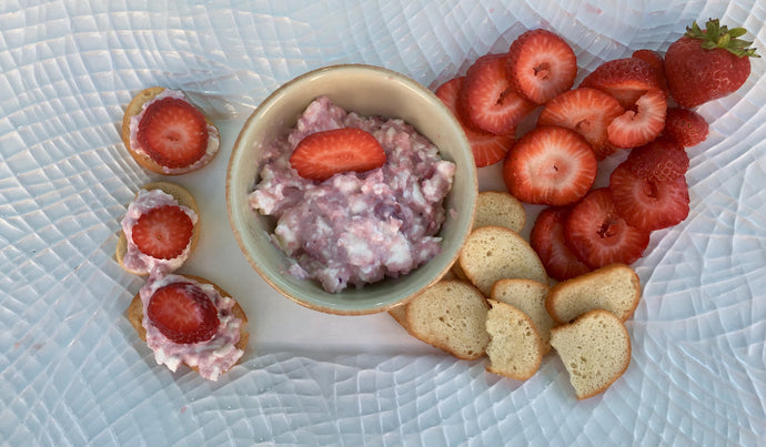 Strawberry Horseradish Dip