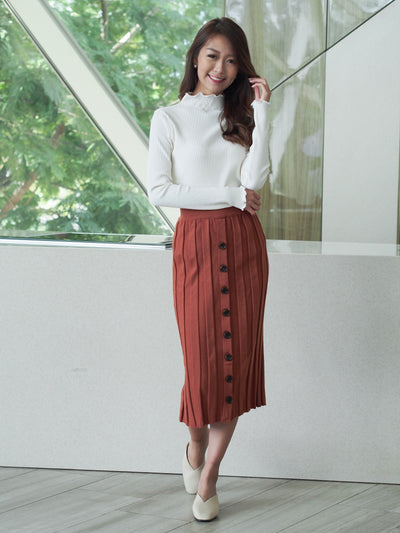 Alexa Skirt Brown