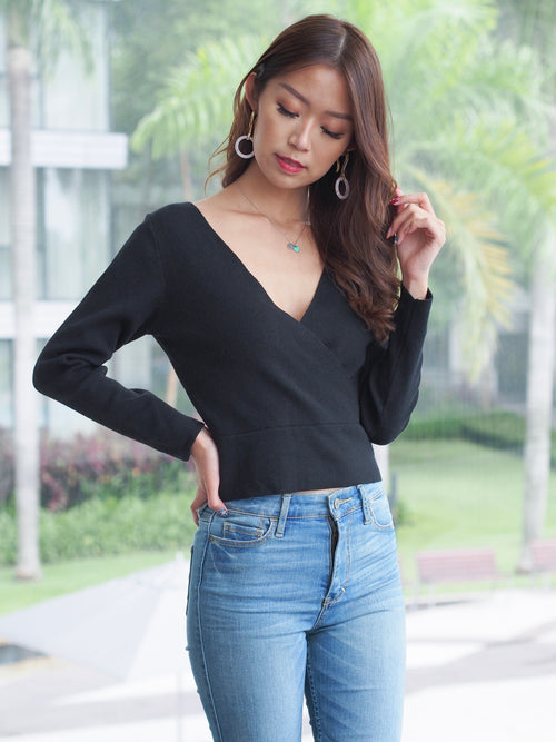 Isabella Soft Knit Black