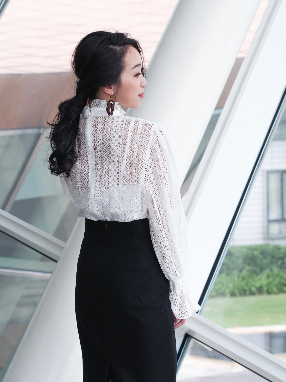 Beatrice Lace Blouse