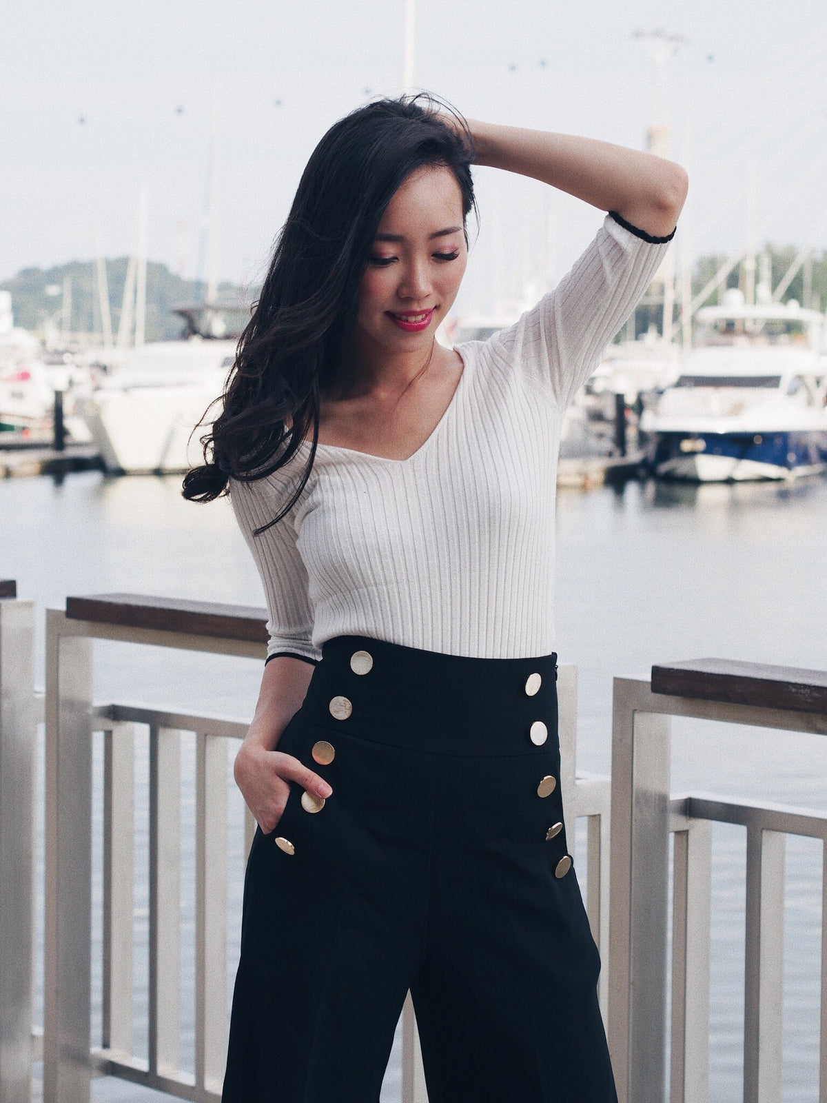Raegan Knit Top