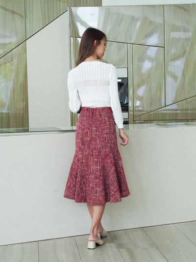 Arianna Tweed Skirt