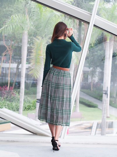 Madison Skirt Green