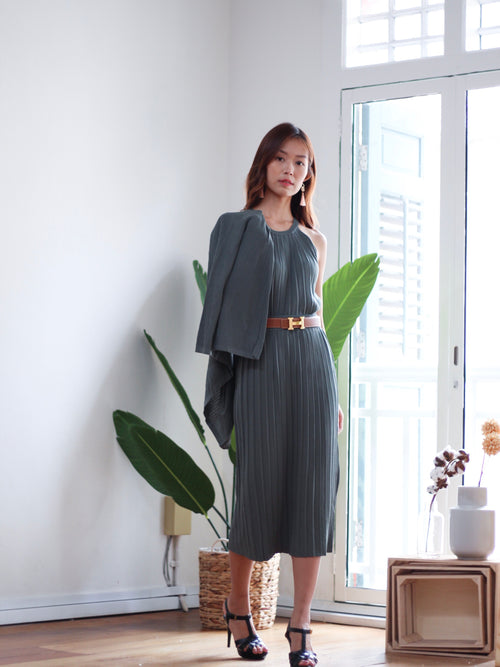 Holter Knit Dress Cardigan Set
