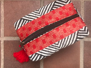 Quilted Make Up Bag