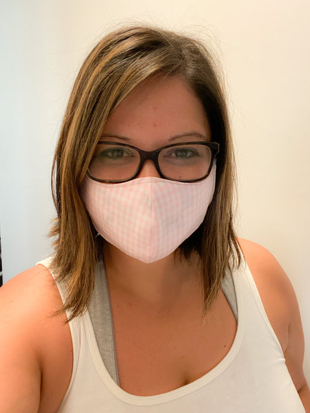 Reusable Cotton Face Mask - Adult