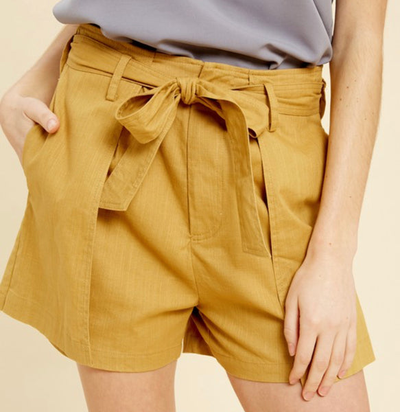Beat the Heat Shorts Mustard