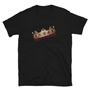 """DTBD"" (Crown) red letters Short-Sleeve Unisex T-Shirt"