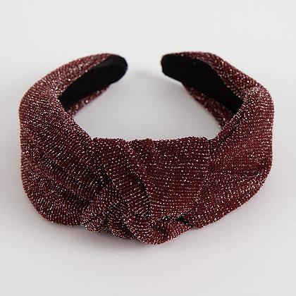 Femme Faire Knotted Headband (Ruby)