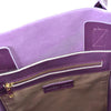 Birchgrove - Purple Leather Slouch Shopper Tote - AllBags4u