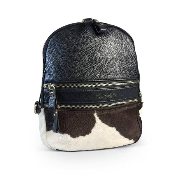 ABERDEEN- Addison Road Calf Hair Backpack - AllBags4u