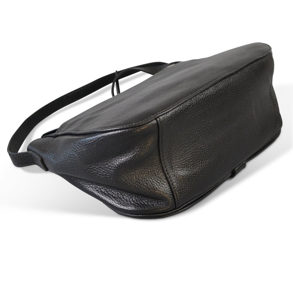 PRAHRAN- Addison Road Natural Black  Calf hair Saddle Bag - AllBags4u