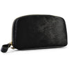 CARMICHAEL- Ladies Black Leather Wristlet Purse - AllBags4u