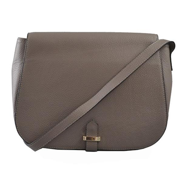 ALBERT PARK - Storm Pebbled Leather Saddle Bag-Womens Bag-Addison Road-BeltNBags