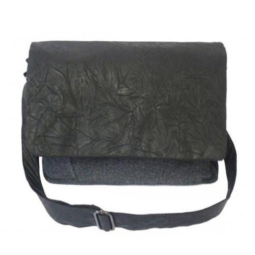 BALLARAT - Mens Black & Grey Bag-men's bag-BeltNBags-BeltNBags