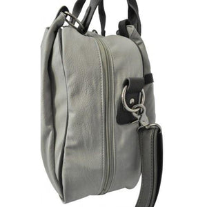 Bianca - Grey Diaper Changing Shoulder Bag - AllBags4u