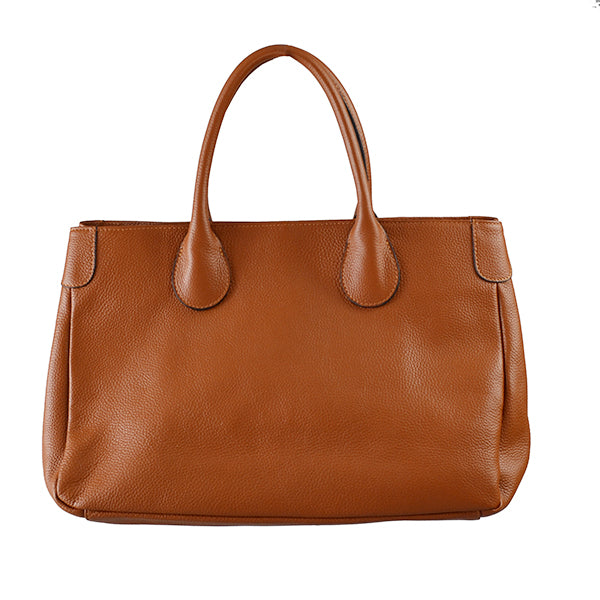 BRIGHTON - Womens Tan Leather Handbag - AllBags4u