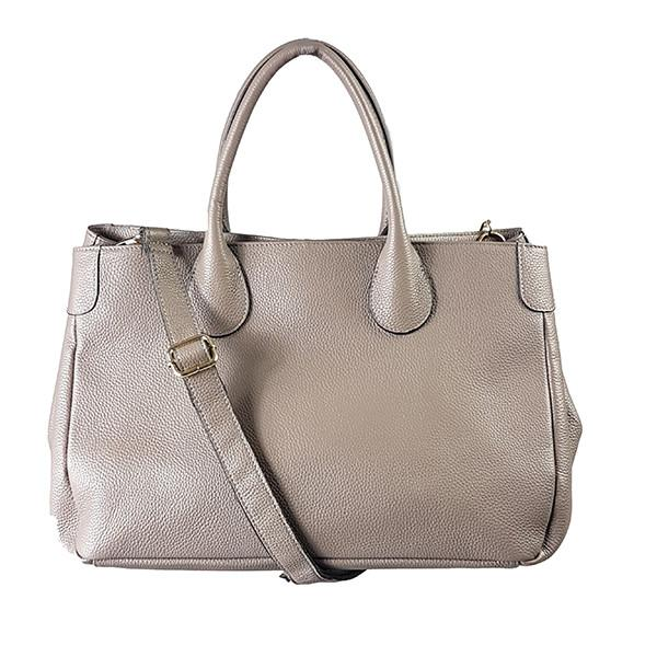 BRIGHTON - Storm Pebbled Leather Handbag - BeltNBags