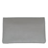 CREMORNE - Ladies Grey Soft Pebbled Leather Fold Wallet - AllBags4u