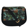 Cleo  - Womens Tropical Faux Leather Crossbody with Interchangeable Lids - AllBags4u