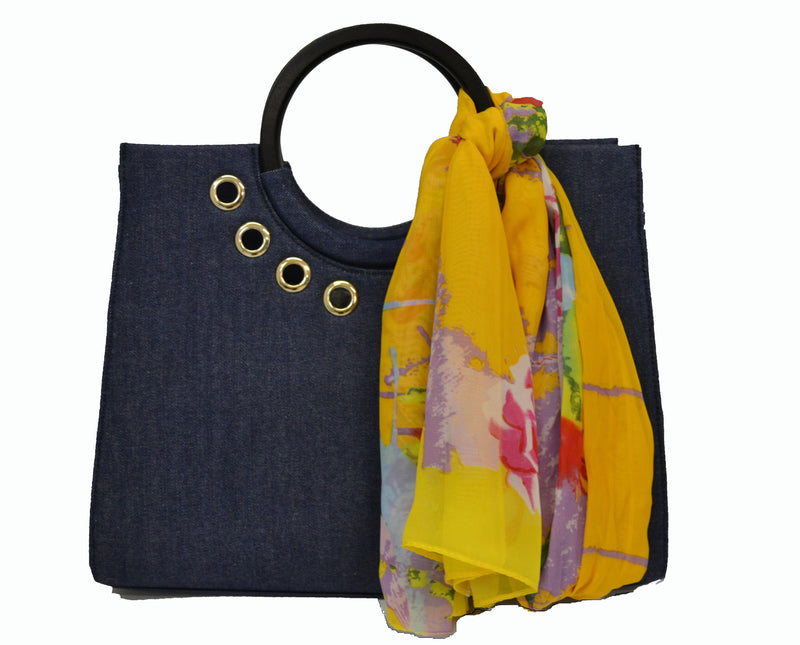 Queenscliff ring handle tote - AllBags4u
