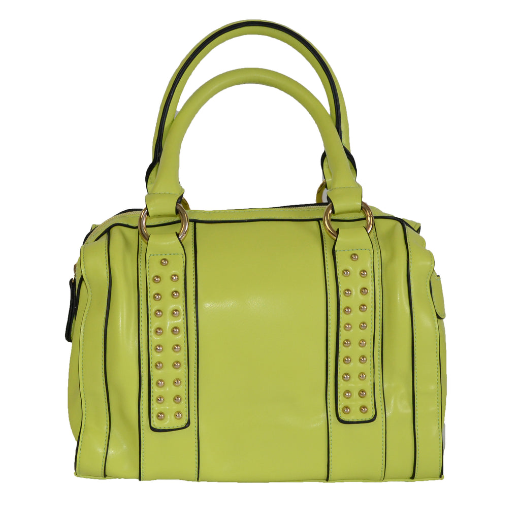 GLENDA - Ladies Neon Green Mini Handbag - AllBags4u