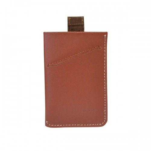HARRIS - Mens Tan Genuine Leather Thin Card Wallet in Gift Envelope - AllBags4u