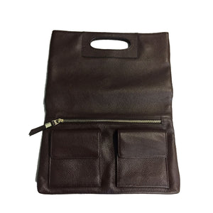 KIAMA - Women's Calfhair Leather Clutch - AllBags4u