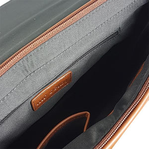 Perth - Mens Brown Genuine Leather Business Satchel - AllBags4u