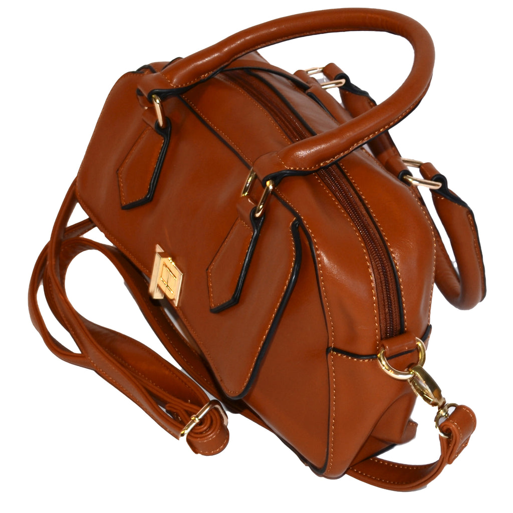 DENISE - Brown Genuine Leather Woman's Bag - AllBags4u