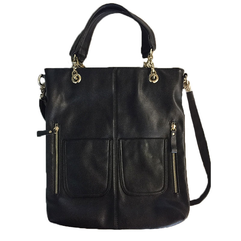 RACHEL - Vegan Leather Shoulder Bag - AllBags4u