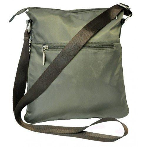 SONDRA - Green Faux Leather Shoulder Bag-Womens Bag-BeltNBags-BeltNBags