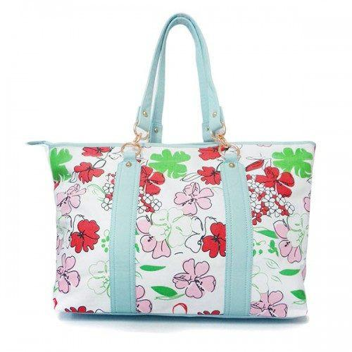 TAMARA - Womens Mint Green Tote Bag - AllBags4u
