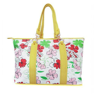 TAMARA - Womens Yellow Tote Bag - AllBags4u