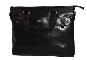 THOMAS - Men's faux leather document bag - AllBags4u