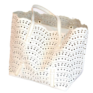 SUMMER -WHITE WOMAN'S BAG - AllBags4u