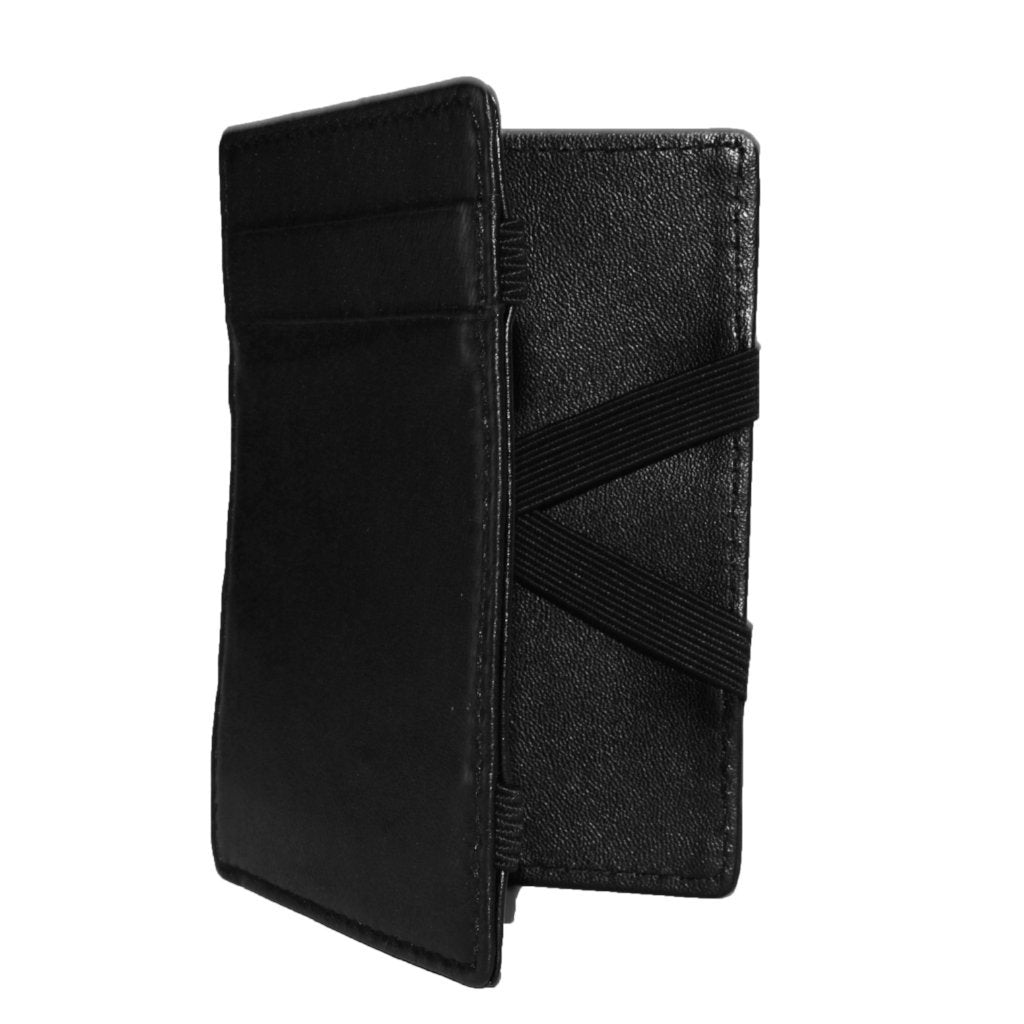 Philip - Mens Black Magic Flip Wallet - AllBags4u