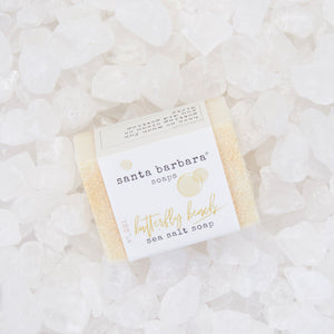 mini bar sea salt soap - butterfly beach