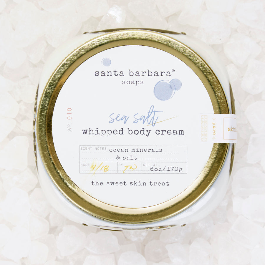 Whipped Body Cream - Sea Salt