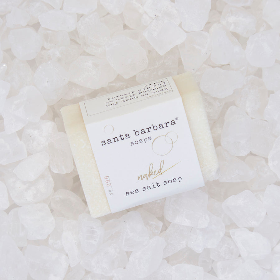 mini bar sea salt soap - naked