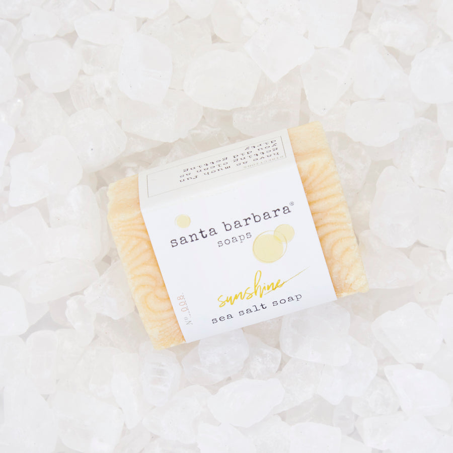 mini bar sea salt soap - sunshine