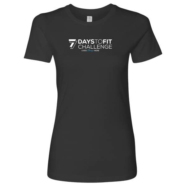 77 Days To Fit Women's Tee