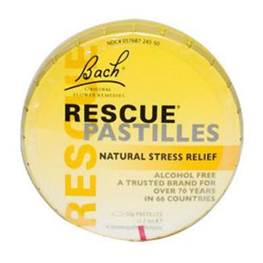 Bach Rescue Remedy Pastilles Ctrds (12x50 GM)