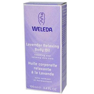 Weleda Lavender Body Oil (1x3.4 Oz)