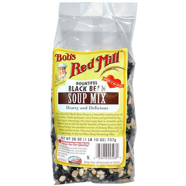 Bob's Red Mill Black Bean Soup Mix (4x26OZ )