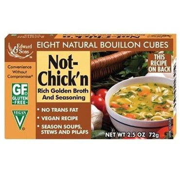 Edward & Sons No Chicken Boulln Lowsod (12x2.5OZ )