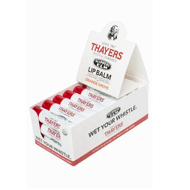 Thayers Organic Slippery Elm Lip Balm Orange Grove (24x0.15 OZ)