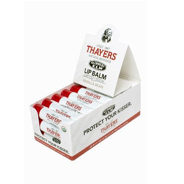 Thayers Organic Slippery Elm Lip Balm Vanilla Bean (24x0.15 OZ)